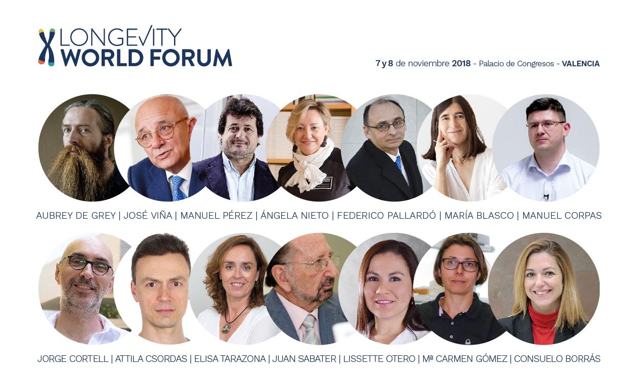 Longevity 2018 Participantes