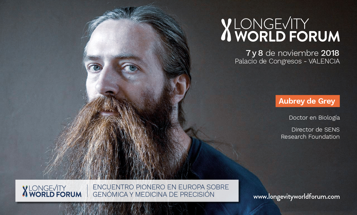 Aubrey de Grey Longevity World Forum